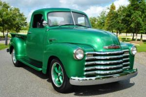 1952 Chevrolet Other Pickups 3100 Custom Advance Design S-10 Chassis 5-Speed!
