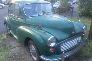 1962 Morris Minor + Cherished number plate - 133 HBP Photo