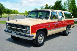 1984 Chevrolet Suburban Silverado 454 Big Block 42K Original Miles 1 Owner
