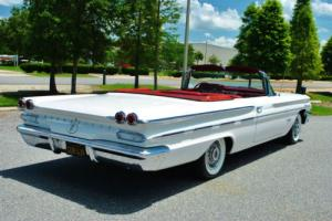 1960 Pontiac Bonneville Convertible Fully Restored California Car! Rare!