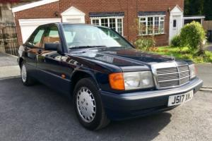 Classic Mercedes 1.8 190e very clean car with 12 months mot