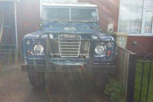 Land Rover Series 3 88 2.25 petrol tax exempt