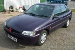 1997 Ford Escort Encore 1.4 CVH EFI Purple Manual 5 Door SPARES OR REPAIR Photo