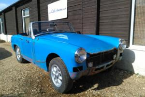 MG Midget 1500 - 1979 - Abandoned Project - Minilite Wheels - No Reserve Photo