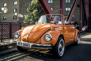 1978 VW BEETLE CONVERTIBLE 1600 FUEL INJECTION LEFT HAND DRIVE FROM CALIFORNIA