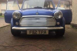 Mini Sky Rose Classic Car Photo
