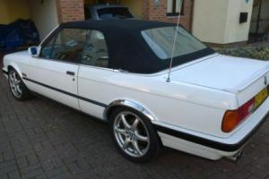 BMW e30 320 convertible project