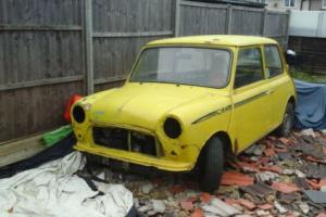classic mini city project (dry stored for 32 years ) 1 owner low milage solid
