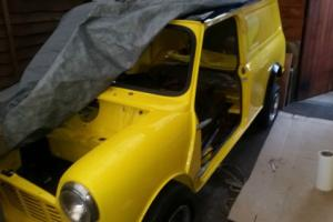 1984 Classic Austin Mini Van 95L Canary Yellow