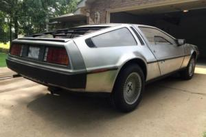 1981 DeLorean stainless