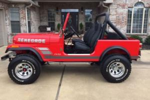 1982 Jeep RENEGADE