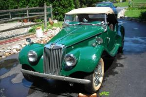 1954 MG T-Series TF Photo
