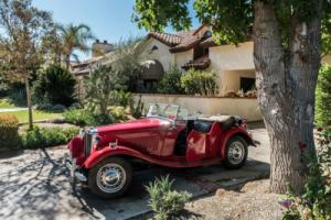1952 MG TD Roadster Photo