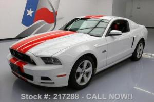 2014 Ford Mustang GT PREM 5.0 6-SPD RED LEATHER NAV Photo