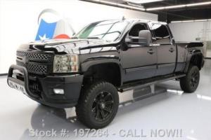 2012 Chevrolet Silverado 2500 BLACK WIDOW DIESEL 4X4 LIFTED