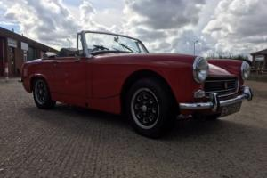 MG MIDGET RED 1275cc convertible 1971