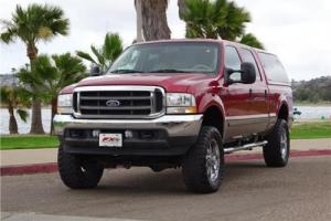 "2003 Ford F-250 LARIAT 4X4 4WD 7.3 1 OWNER LEER TOPPER 20"" WHEELS"