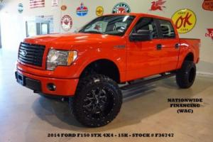 2014 Ford F-150 STX SPORT 4X4 LIFTED,SYNC,CLOTH,BLK 20'S,15K,WE FINANCE