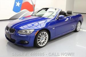 2013 BMW 3-Series 328I CONVERTIBLE 6-SPD M-SPORT NAV LEATHER