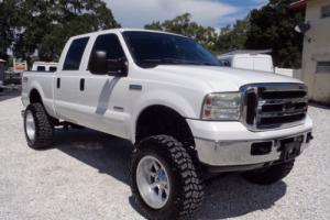 2006 Ford F-250 LIFTED DIESEL LARIAT 4X4 CREW 20s ALLOY NICE TRUCK
