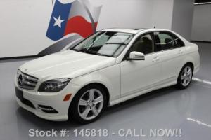 2011 Mercedes-Benz C-Class C300 LUX AWD SUNROOF BLUETOOTH