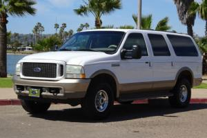 2003 Ford Excursion Eddie Bauer 4 DOOR POWERSTROKE DIESEL 3RD ROW SEAT