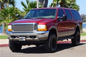2001 Ford Excursion LIMITED 7.3L DIESEL 4X4 1 OWNER CLEAN TITLE