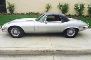 Jaguar E-Type CONVERTIBLE MANUAL