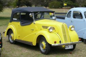 1947 Ford Anglia Tourer Trophy Winner in SA