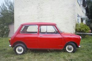 CLASSIC MORRIS MINI MINOR MK1 1964 HISTORIC VEHICLE RESTORED