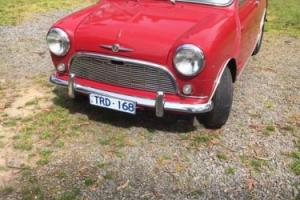 Morris Mini 850 rare original condition Austin barn find minor sliding windows