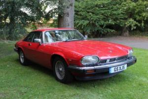 1989 JAGUAR XJS HE AUTO RED FULL SERVICE HISTORY Photo