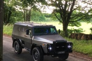 ARMOURED BULLET/BOMB PROOF MINE PROTECTED TRUCK - MARAUDER - CONQUEST KNIGHT XV