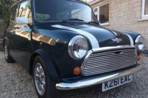 1992 ROVER MINI COOPER 1.3I British Racing Geen/White Roof Photo
