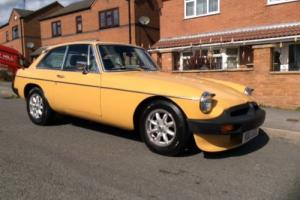 MGB GT 1977 NO RESERVE 43K FROM NEW LOADS OF HISTORY OLD MOTS