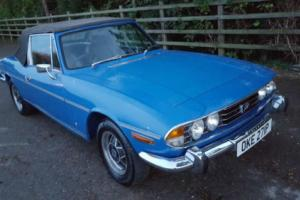 Triumph Stag Manual Overdrive: Only Three Owners From New, With A Full MOT. Photo