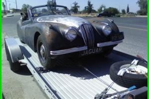 1954 Jaguar XK DHC Photo