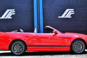 2013 Ford Mustang 2dr Convertible Shelby GT500