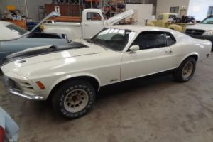 1970 MUSTANG GENUINE MACH 1 - FAST BACK - SPORTS ROOF - NO RESERVE