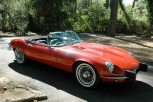 Jaguar E-Type V12 roadster. 63,000 miles. LHD. Drives beautifully