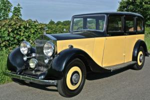 1938 ROLLS ROYCE 25/30 Lwb Park Ward Limousine Last owner 30 Years Photo