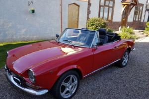 LOVELY 1968 RHD, SERIES ONE,1430CC FIAT 124 PINNFARINA SPIDER NO,RESERVE !