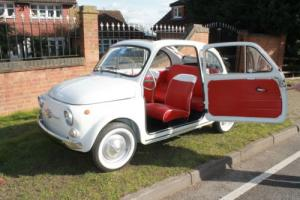 Classic 1964 Fiat 500D Trasformabile Stunning Example Full Lengh SunRoof