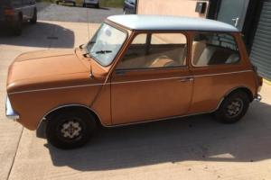 1979 Mini Clubman Special Edition 1100cc