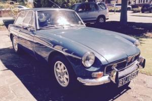 1973 MGB GT 1.8 Blue Overdrive Chrome Bumper Model Classic Car MOT & TAX Exempt