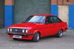 1978 Ford Escort RS2000 Mk2 Venetian Red Completely Restored for Sale