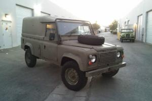1985 Land Rover Defender 2.5 D 110 10 SEATER EX UK ARMY