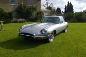 JAGUAR E-TYPE 1971 series 2 4.2l fhc power steering/air con auto 2+2 e type xke