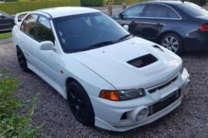 MITSUBISHI EVO EVOLUTION 4 WITH 380 BHP HIGHLY MODIFIED EVO 7 ENGINE FITTED Photo