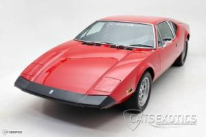 1973 De Tomaso Detomaso Pantera Luxury Photo